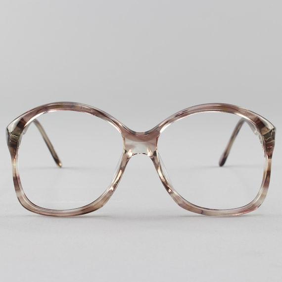 Vintage Eyeglasses | 80s Glasses | Vintage Oversized Eyeglass Frames - 307 2872