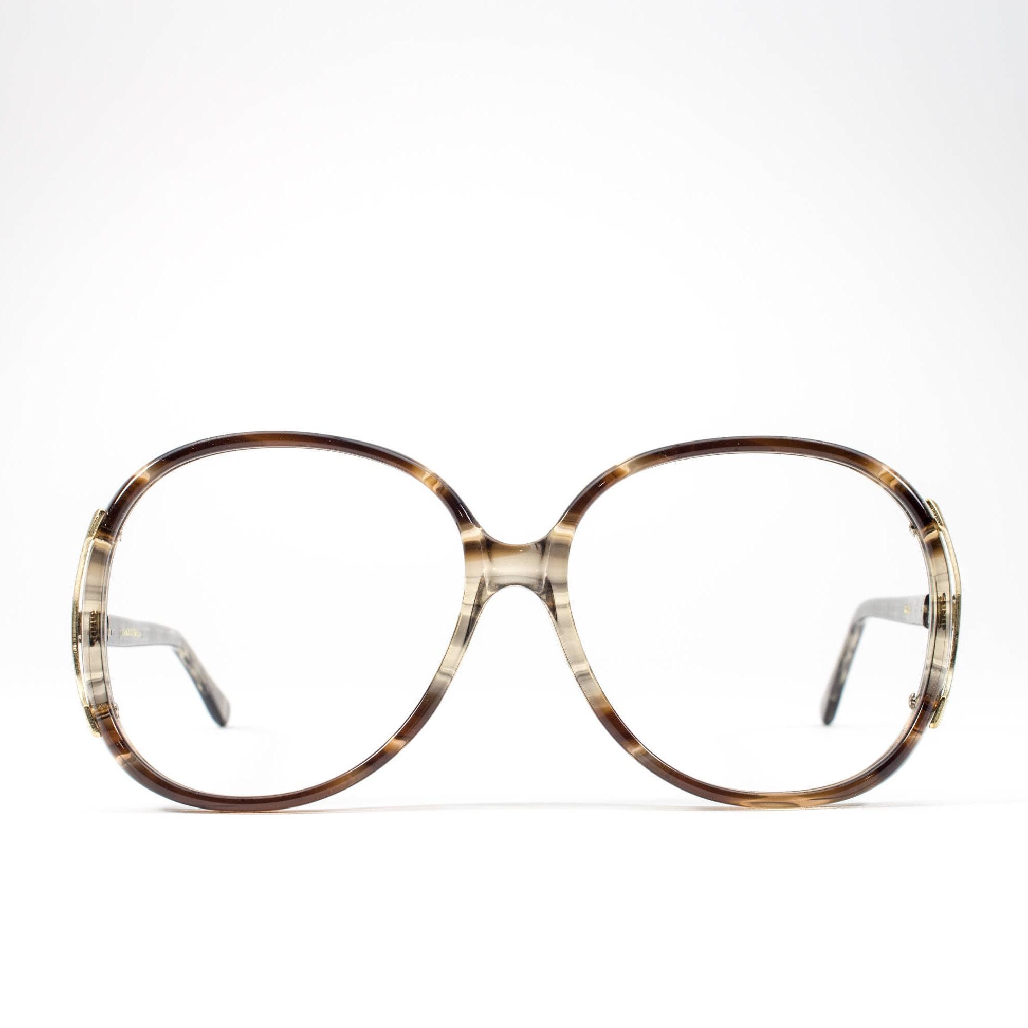 Big 80s Glasses | Vintage Eyeglasses | 1980s Oversized Glasses ...