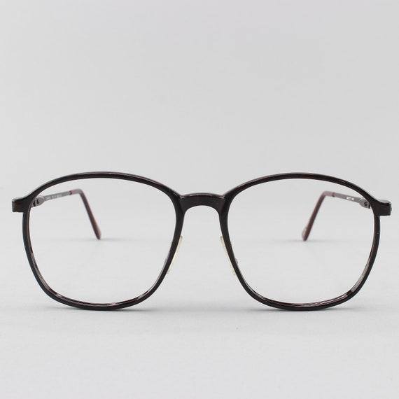 80s Glasses | Vintage Eyeglasses | Round Oversize Glasses | 1980s Aesthetic  - Carbex 103