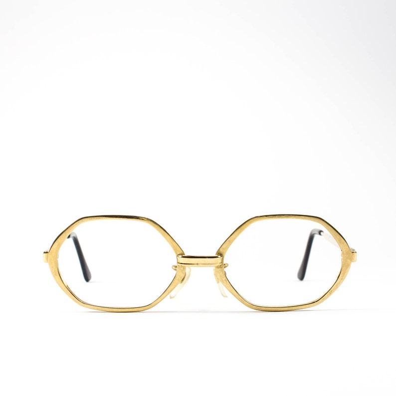 aabb2086d2dd 60s Glasses Vintage Eyeglass Frame Octagon Eyeglasses