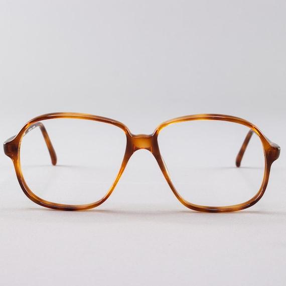 80s Glasses | Vintage Frames | Tortoiseshell Eyeglasses| NOS - Pisa 3703