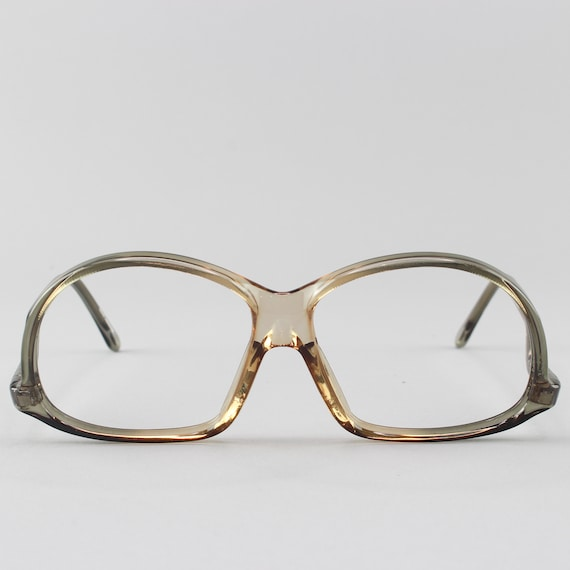 Vintage Eyeglasses | 70s Glasses | Clear Gray Glasses Frames | 1970s Eyeglass - M20-3