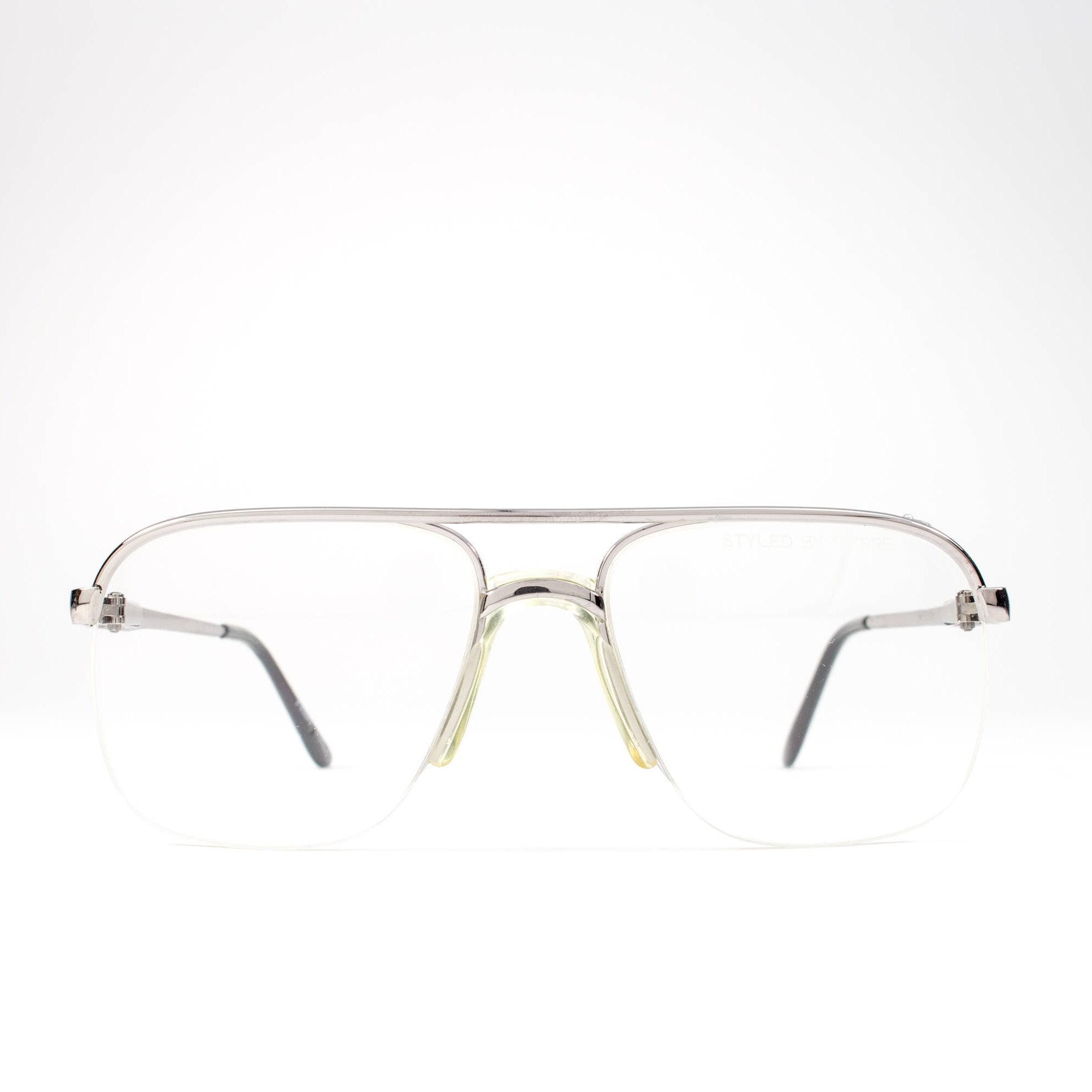 80s Vintage Eyeglasses | Aviator Glasses Frames | 1980s Eyeglasses ...