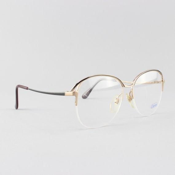 80s Glasses | Vintage Eyeglasses | Round Eyeglass Frame | 1980s Look - 4410