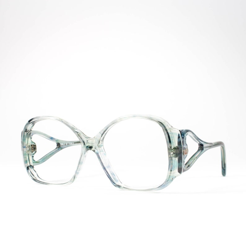 6f522b5fa2da Vintage Eyeglasses 70s Glasses 1970s Oversized Glasses