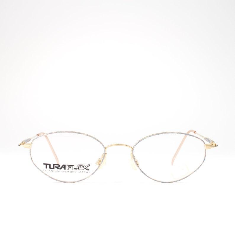 d19983a02944 90s Vintage Eyeglasses 1990s Glasses Oval Glasses Frames