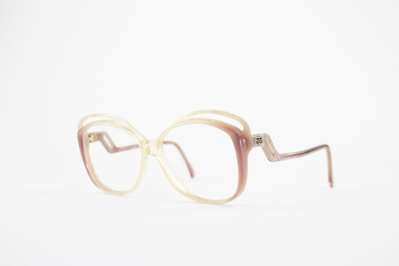 222778a64cc7 Vintage 70s Givenchy Eyeglass Frame Clear Glasses Perfect