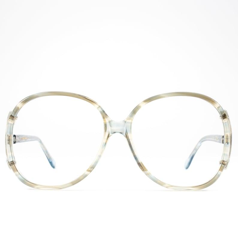 b00a2abc1176 Vintage 80s Glasses Big Eyeglasses 1980s Oversized Glasses