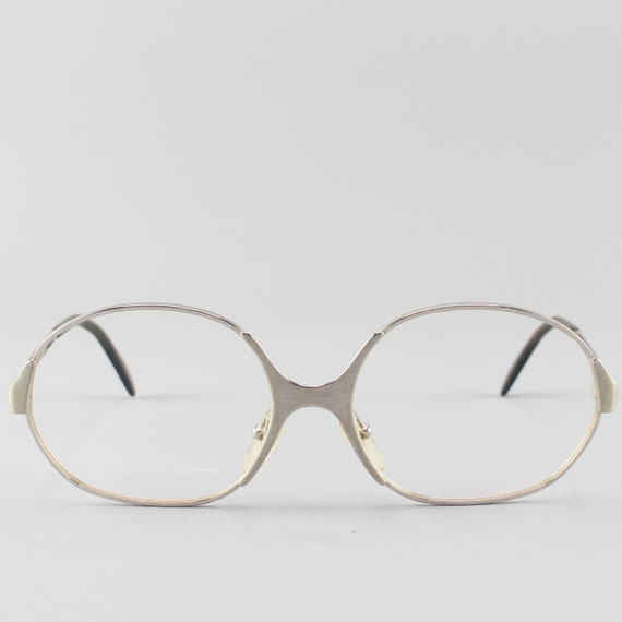 Vintage Eyeglasses | 70s Glasses | Oval Eyeglass Frame | 1970s Style - 3961