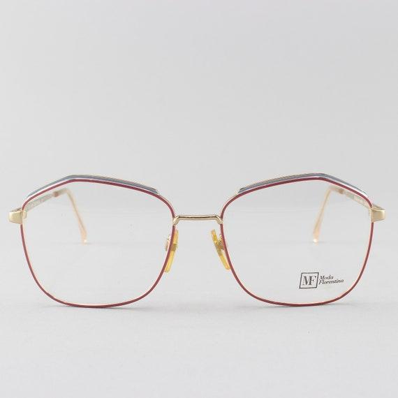 Vintage Glasses | 80s Eyeglasses | Oversized Aesthetic | 1980s Lavender Eyeglass Frame - 122