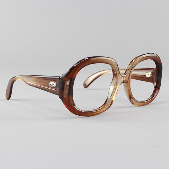 70s Eyeglasses| Oversized Vintage Glasses | Round Eyeglass Frames | 1970s Aesthetic  - Kim Brown