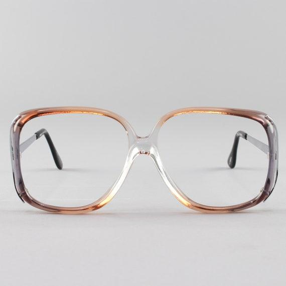70s Glasses | Vintage Eyeglasses | 1970s Oversized Glasses Frames | 1970s Deadstock - Rhonda 2