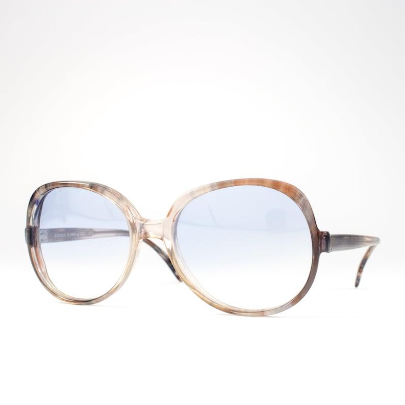 547ff9b5fb Vintage 70s Sunglasses 1970s Sunglasses Oversized Glasses