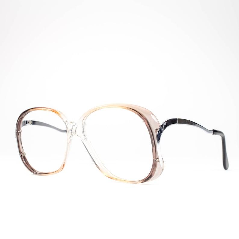 25650c7470f0 Vintage 1970s Glasses Oversized Glasses Frames Vintage 70s