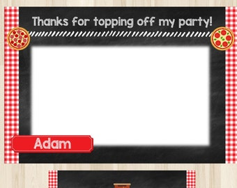 Personalized - Pizza Party Thank You, Pizza Party Ideas, Pizza Birthday, Pizza Party Supplies, Pizza Theme Party, Pizza Theme Birthday