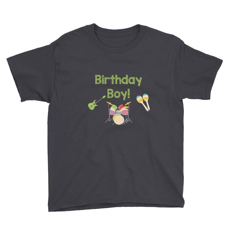d582cb91 Music Birthday Shirt Music Party Shirt Music Party Music | Etsy