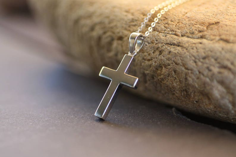 a9e3f0953e81 White Gold Cross Men s Cross Pendant Men s Pendant 14K