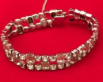 VTG KRAMER rhinestone bracelet