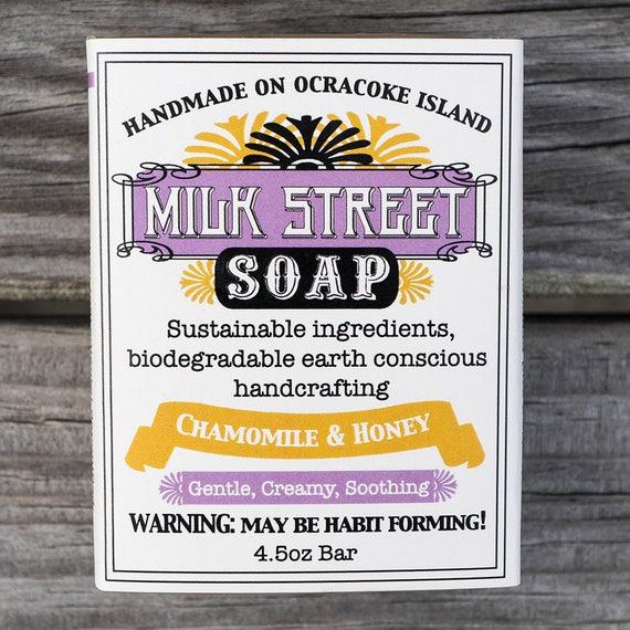 Chamomile & Honey Goat Milk Soap