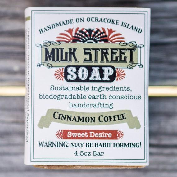 Cinnamon Coffee Olive Oil Soap