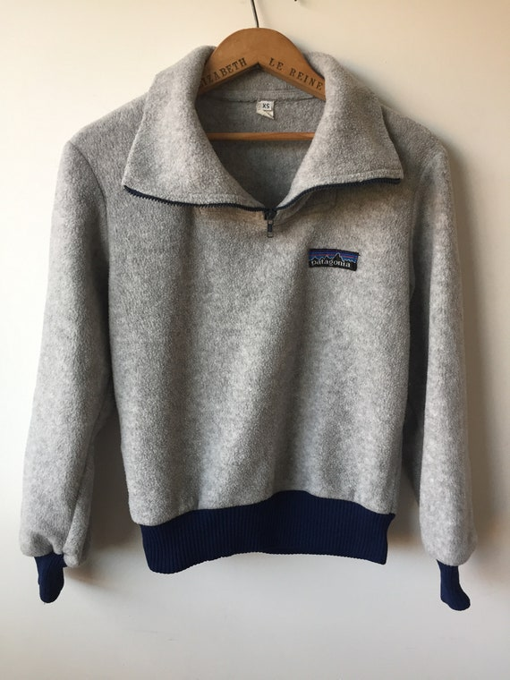 Vintage Patagonia fleece sweater- - image 1