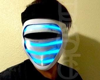 led light up motorcycle helmet