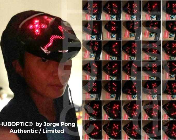 Featured listing image: HUBOPTIC® Player Fx25 NFS Mask Gamer Mask Skin Racer Avatar Customized Mask DJ Mask Led Mask Sound Reactive Light Up Mask Costume Cosplay
