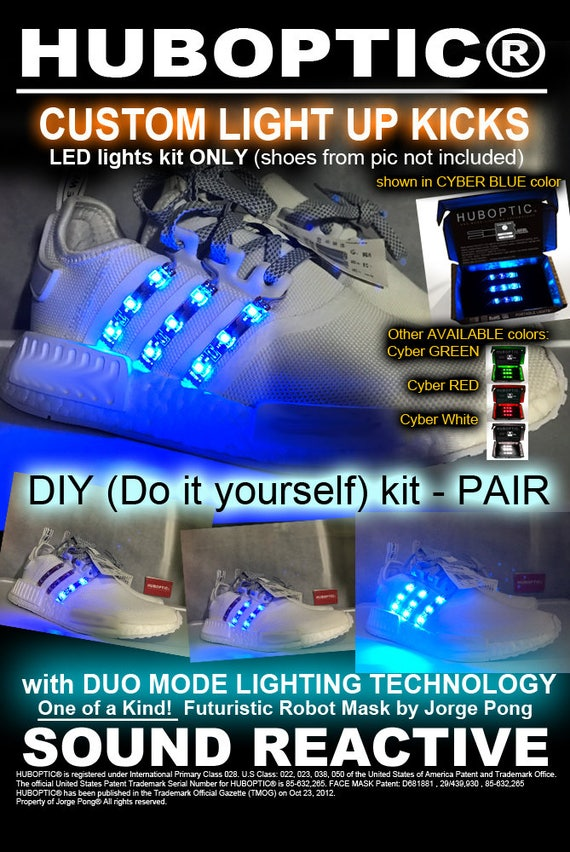 Sound Reactive LED Lighting For Dancer Shoes Sneakers Tops