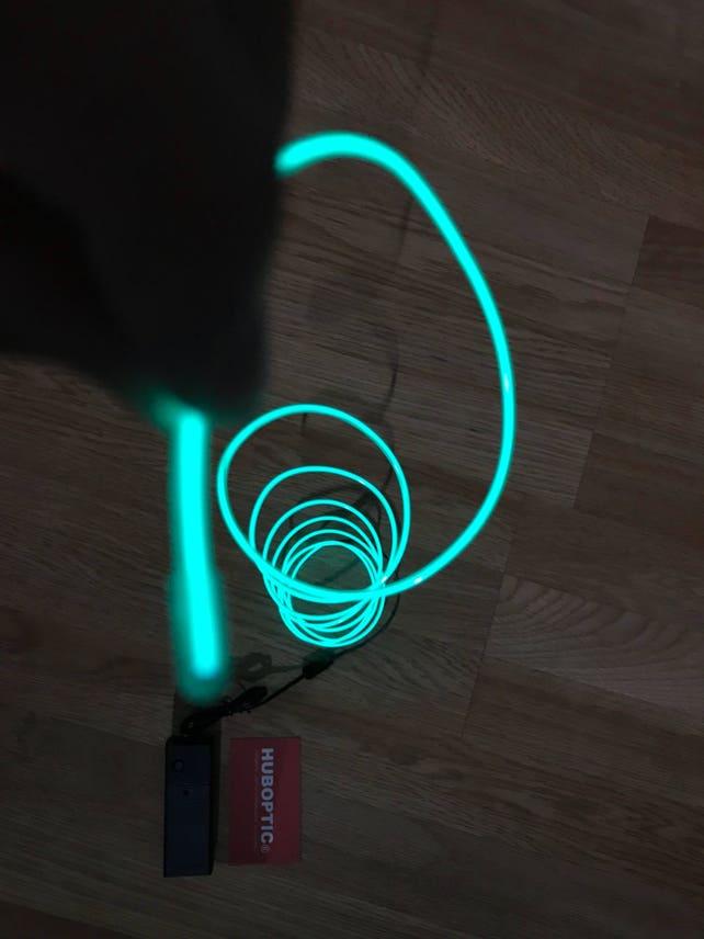 Green EL wire 6\' ft Led String for light up EL mask EL | Etsy