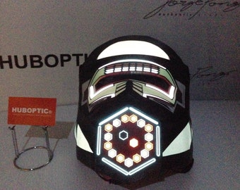 Futuristic Robot Mask Original Mtzr2 FX Robot Gas Dust Mask Style DJ Light Up Mask LED Mask Rave Mask for Gigs Scifi Cosplay Party Costume