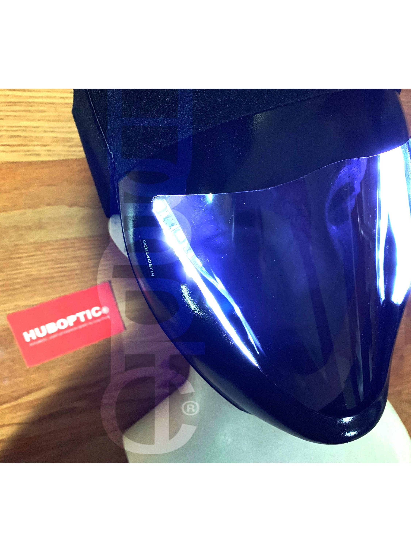 HUBOPTIC® Cyber Dust Mask FX20 Smoked Visor Raver Rave Mask