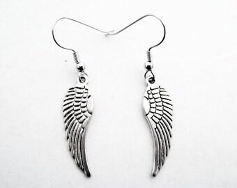 Harley earrings angel jewelry biker dangle angel earrings biker jewelry biker earrings angels Harley jewelry Harley angel earrings