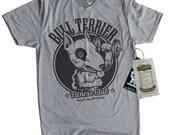 Bull Terrier Shirt - Mens Gym Shirt - Exercise Workout Shirt for Men - Bull Terrier Dog Shirt - Bull Terrier Fitness Club -Perfect Dog Shirt