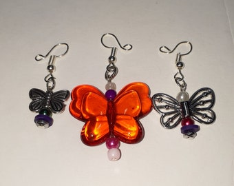 Stitch Markers, Butterfly Crochet Knit Place Holders (SET of 3)