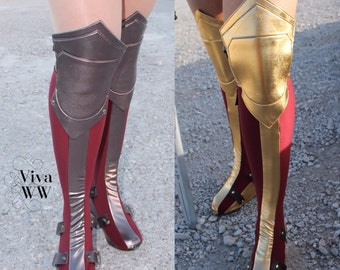 ff634125dc BOOTCOVERS New Wonder Superhero Woman Boot Covers Bootcovers