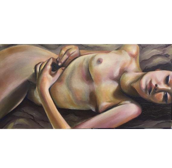 Montana mujer desnuda anatomía arte mujer hermosa chica