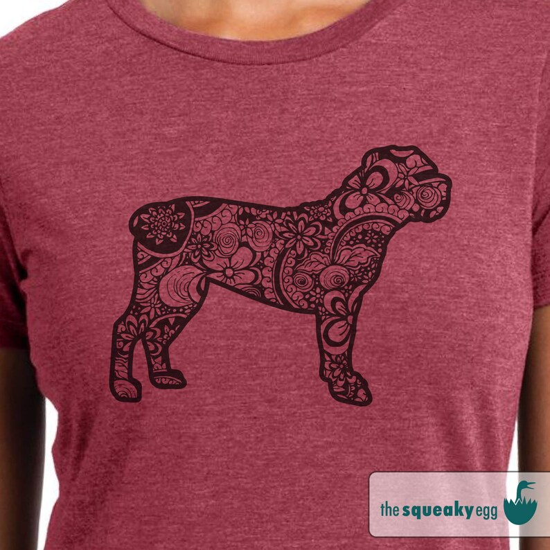 Boerboel - Doodle - Boerboel shirt - Ladies or Unisex cut - Choose your  color!