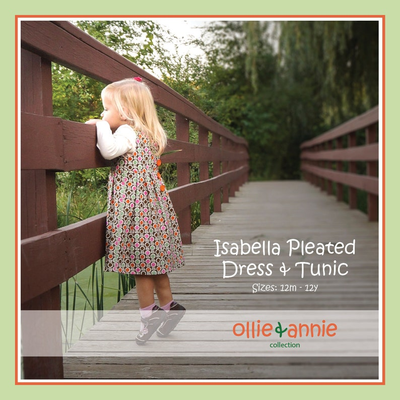 Ollie and Annie Collection Isabella Dress and Tunic PDF image 0