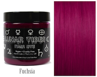 Dark Fuchsia Pink Hair Dye