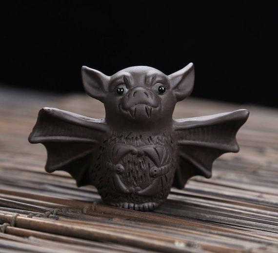 chinese yixing zisha pottery tea pet:bat