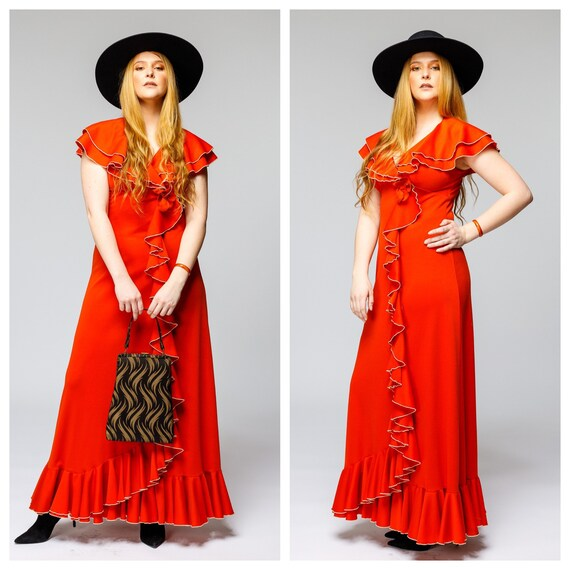 Vintage Rustic Festival Dress