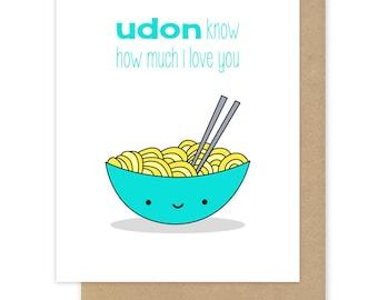 Food Pun I Love You Card Boyfriend Girlfriend Husband Wife Fun Funny Romantic Anniversary Birthday Handmade Greeting Cards Gifts For Her Him