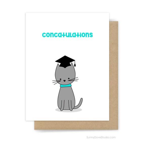 funny graduation card congratulations congrats grad graduate etsy