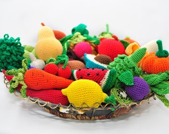 Crochet vegetables Crochet pattern #amigurumi #crochet #vegetables ... | 270x340