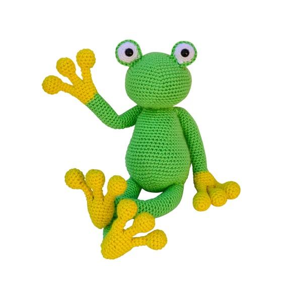 Free Pattern: Tree Frog | 576x570