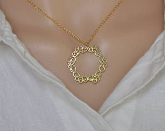 Fine jewelry solid gold jewelry necklace 14k gold necklace etsy fine jewelry necklace oriental gold pendant solid gold jewelry pendant 14k gold necklace solid gold pendant 14k solid gold jewelry aloadofball Gallery