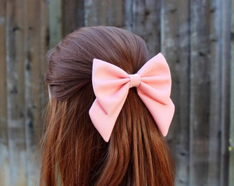 Pink bow | Etsy