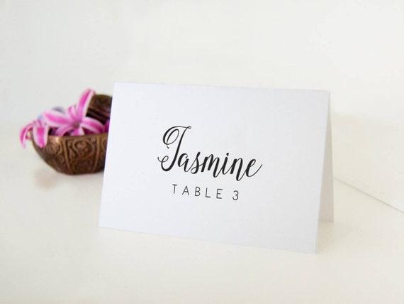 Hochzeit Tischkarten Namen Tischkarten Hochzeitskarten