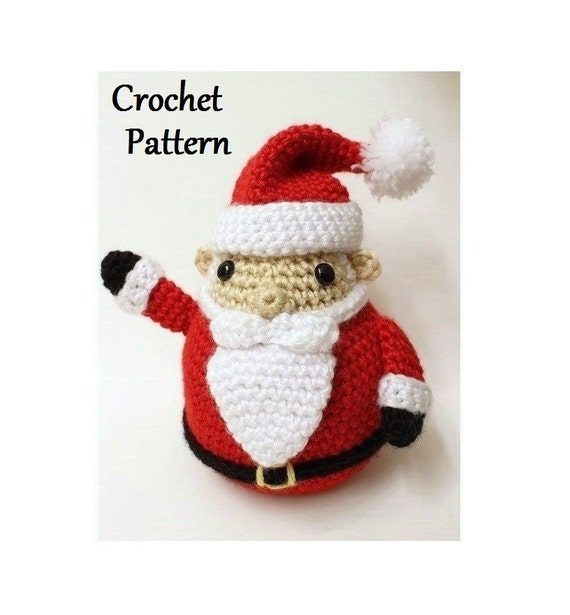 Santa Claus Crochet Pattern | Etsy
