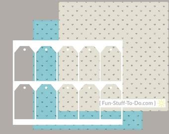 Tag One - Digital Transparent Overlay Template - Patterns & How To